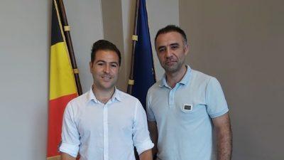 Bülent Akın'dan Mehmet Bilge'ye ziyaret