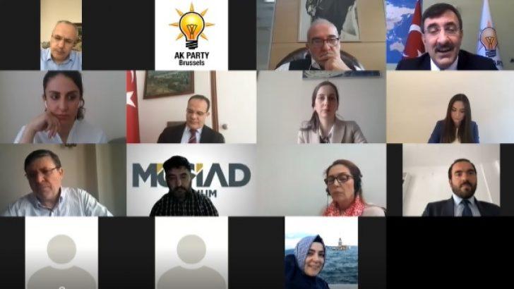 Cevdet Yılmaz Türk kurum ve kuruluşları ile buluştu