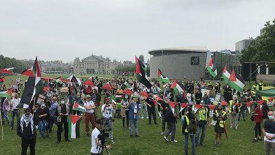"İsrail'in ""ilhak"" planı Hollanda'da protesto edildi"