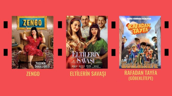 Belçika'da 3 Türk filmi seyirciyle buluşuyor