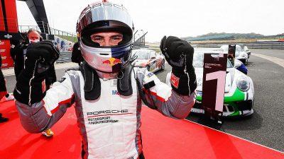Güven, Porsche Super Kupa'nın Belçika ayağında birinci oldu