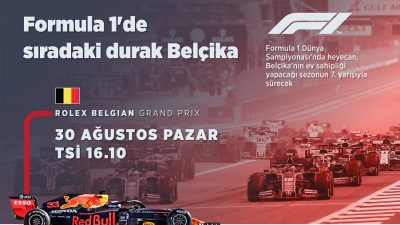 Formula 1'de sıradaki durak Belçika
