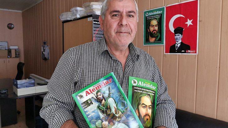"""""""Ehlibeyt Alemdar"""" dergisi Avrupalı Türklerle tanıştı"""
