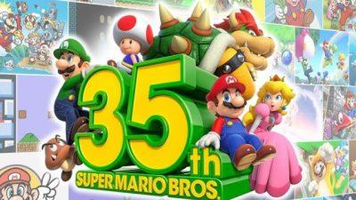 Super Mario Bros 35. yıldönümünü kutlayacak