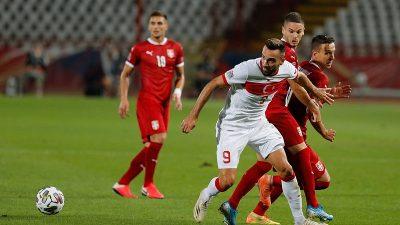 Milli Takım, Sırbistan ile deplasmanda 0-0 berabere kaldı