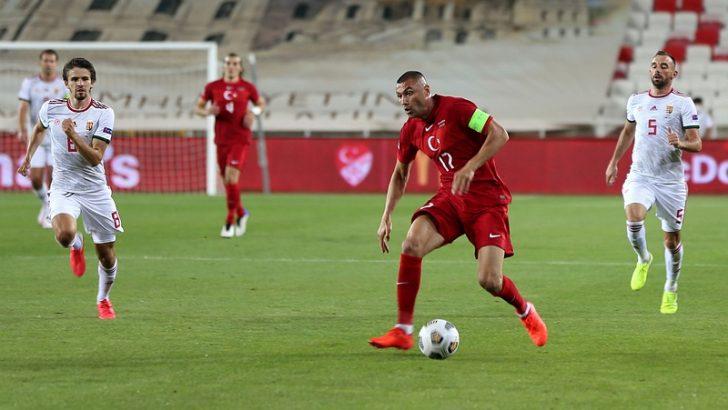 Türkiye, ilk maçında Macaristan'a 1-0 yenildi