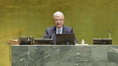 """BM Başkanı Bozkır: """"BM değişime ayak uydurmak zorunda"""""""