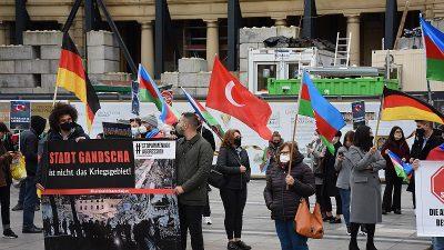 İşgalci Ermenistan Köln'de protesto edildi