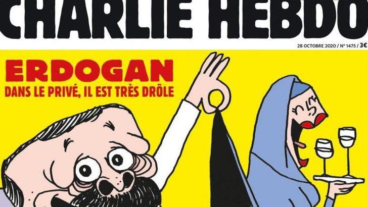 Erdoğan'dan, Charlie Hebdo dergisi hakkında suç duyurusu