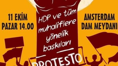 HDP'yle CHP'den Hollanda'da ortak miting