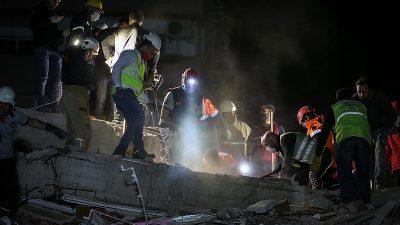 AB: Ege'deki deprem sonrası yardıma hazırız