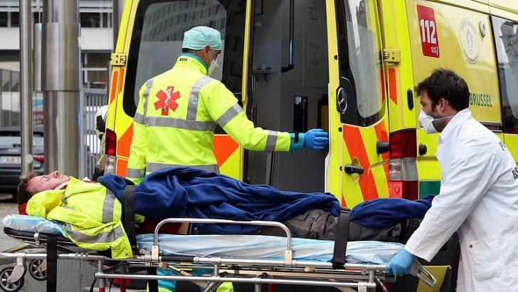 Belçika'da hastanelerdeki doluluk alarm veriyor