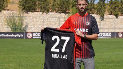 Gaziantep FK, Belçikalı Kevin Mirallas transferini duyurdu