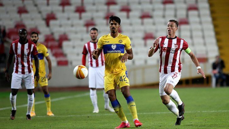 Demir Grup Sivasspor: 1 – Maccabi Tel-Aviv: 2µ