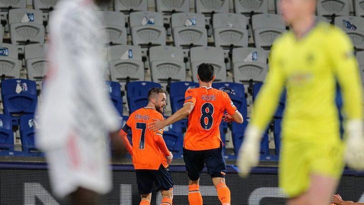 Medipol Başakşehir, Manchester United'ı devirdi