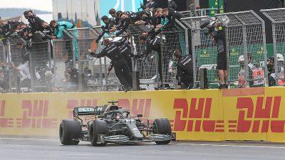Lewis Hamilton, İstanbul'da ikinci kez galip geldi
