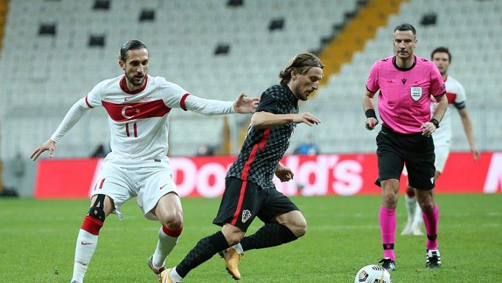 Türkiye, hazırlık maçında Hırvatistan ile berabere kaldı