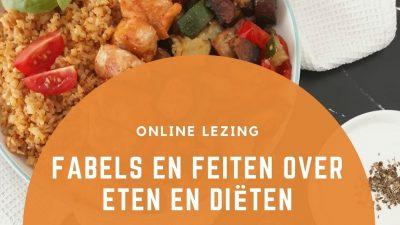 Sağlıklı beslenme ve diyet üzerine online bilgilendirme faaliyeti