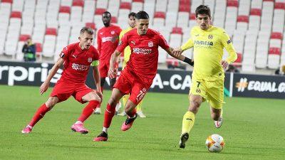 Demir Grup Sivasspor: 0 – Villarreal: 1