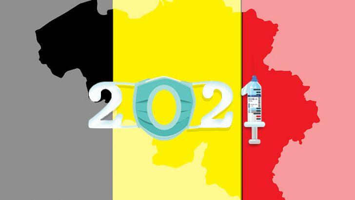 Belçika'da Kovid-19'a karşı geniş çaplı aşılama başladı
