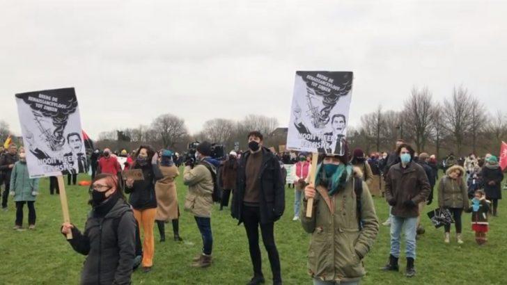 Hollanda'da ırkçılığa ve ayrımcılığa karşı gösteri düzenlendi