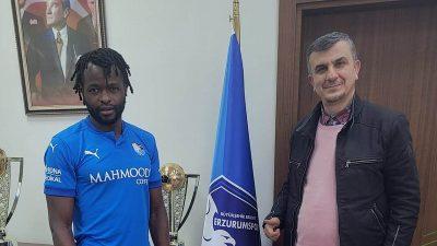 Belçika'dan Erzurumspor'a transfer