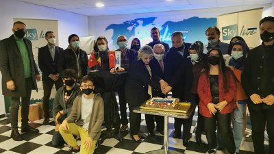 Sky Live kuruluşunun 3. yıldönümünü kutladı