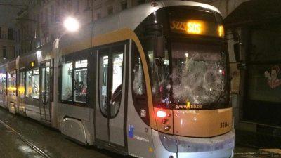 Brüksel'de şiddet olaylarına karışan 116 kişi tutuklandı