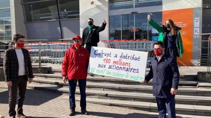Dönmez'le Koyuncu'dan greve giden işçilere destek