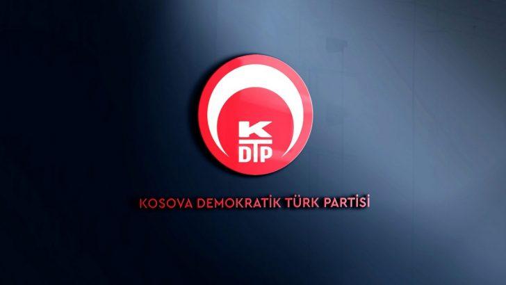Kosova Demokratik Türk Partisi, Kosova'nın Kudüs'te büyükelçilik açmasına tepki