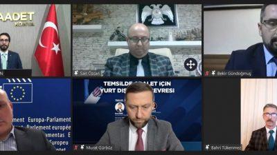 """""""30 ila 35 vekilin seçildiği bir yurt dışı seçim çevresi kurulmalı"""""""