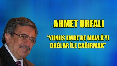 """""""Yunus Emre'de Mevlâ'yı Dağlar ile Çağırmak"""""""