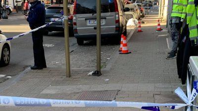 Brüksel'deki Türk mahallesinde sokak ortasında cinayet