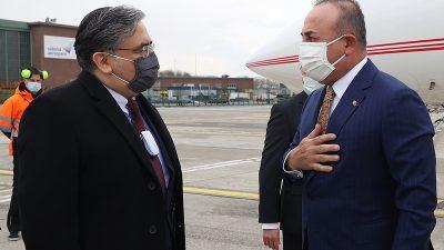 Dışişleri Bakanı Mevlüt Çavuşoğlu Brüksel'de