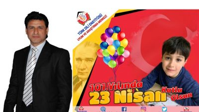 Şener Uğurlu'nun 23 Nisan Ulusal Egemenlik Bayramı kutlama mesajı