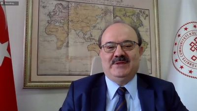 Eğitim Diplomasisi Semineri'nin konuğu Dr. Serdar Çam oldu