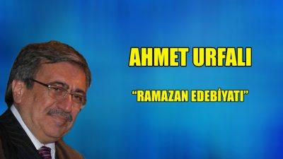"""""""Ramazan Edebiyatı"""""""