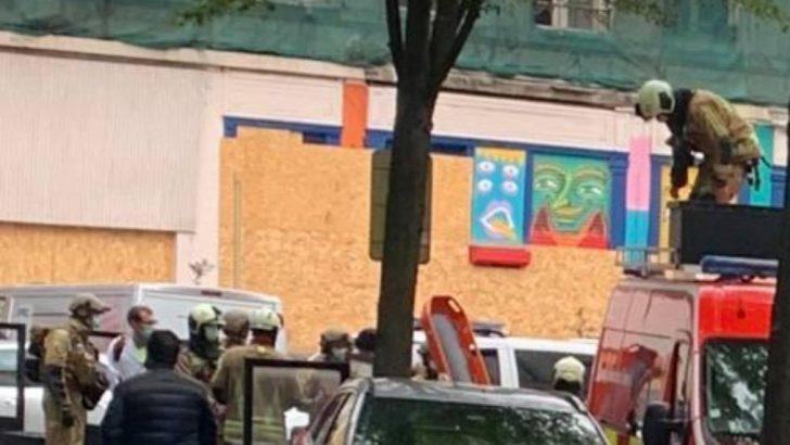 Brüksel'in Türk mahallesinde rehine krizi