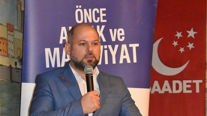 Saadet Brüksel Bölge Başkanı Hasan Yavuz Uzun'dan bayram mesajı