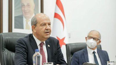 KKTC Cumhurbaşkanı Tatar, Brüksel temaslarına ilişkin değerlendirmelerde bulundu