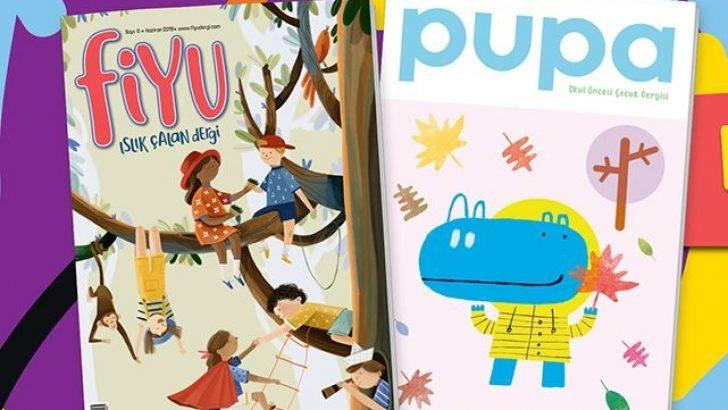 Türkiye dışında yaşayan çocukların dergisi Fiyu, kanatlarını yeniden açtı