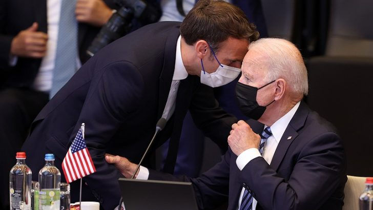 """ABD Başkanı Biden'dan Avrupa'ya """"yanınızdayız"""" mesajı"""