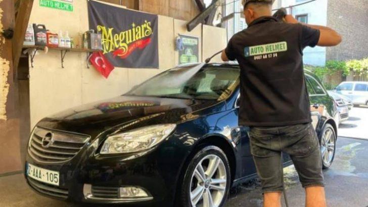 Marka haline gelen Washbae'de otomobillere her türlü kuaför hizmeti verilir