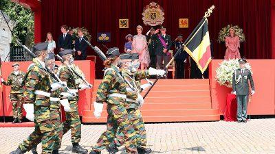 Belçika kuruluşunun 190. yıl dönümünü kutladı