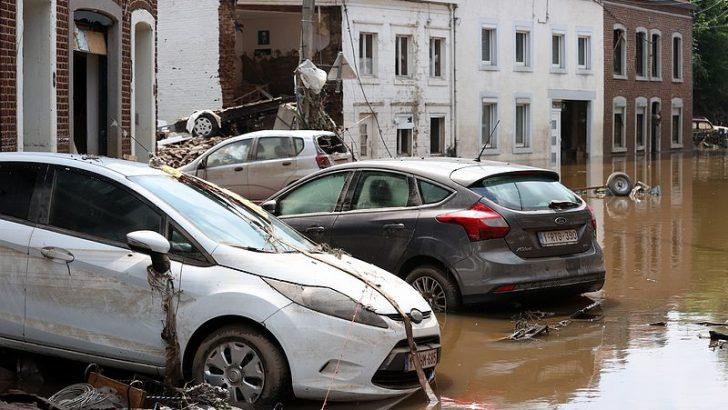 Belçika'da sel kurbanları için anma törenleri düzenlendi