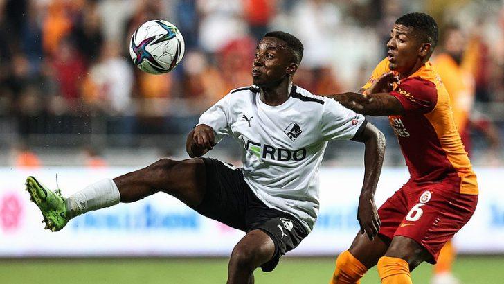 Randers'i 2-1 yenen Galatasaray, gruplarda mücadele etme hakkı kazandı