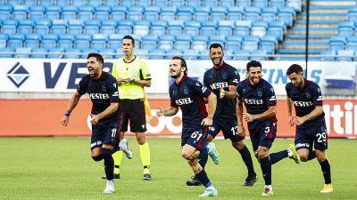 Norveç temsilcisini eleyen Trabzonspor, play-off turuna yükseldi