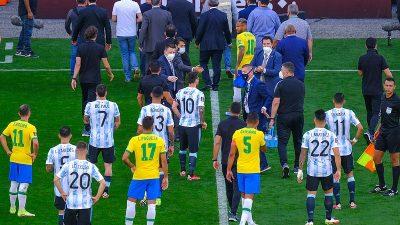 """Brezilya-Arjantin maçıyla vermek istenen mesaj"""