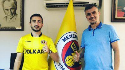 Menemenspor, Belçika doğumlu Enes Sağlık'ı transfer etti