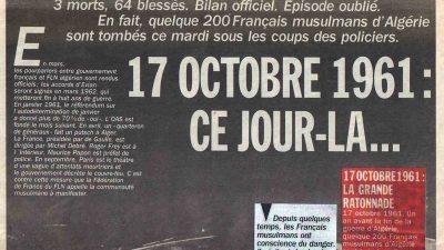 """Cezayir'de """"17 Ekim 1961 Katliamı""""nın 60. yılında Fransa'ya tepkiler yükseldi"""